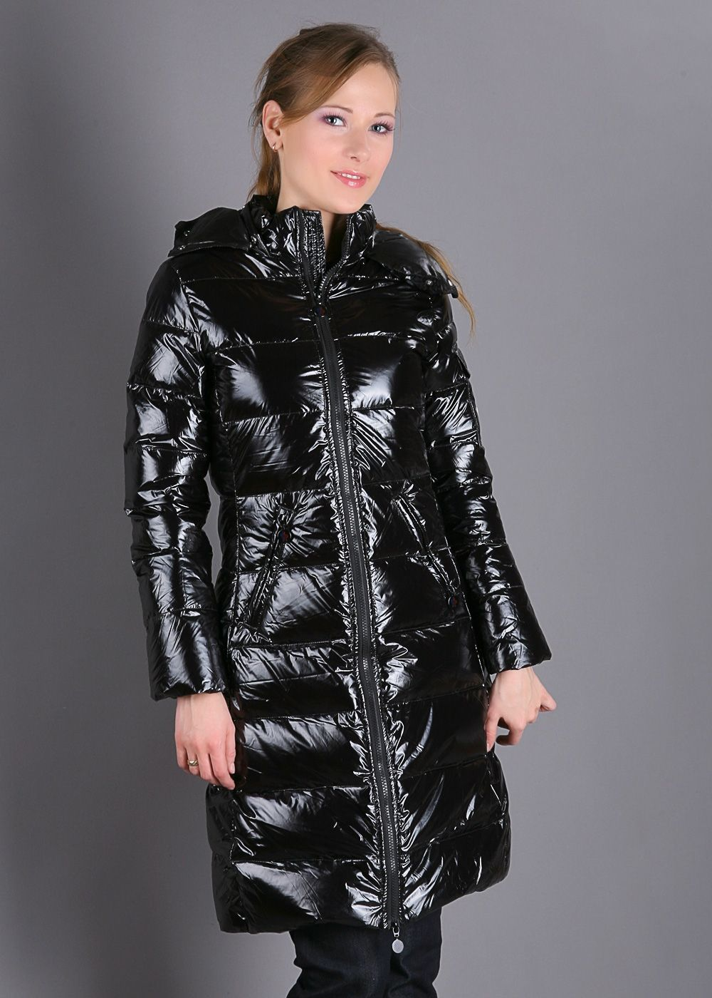 Black Moncler down coat Down coat, Raincoats for women