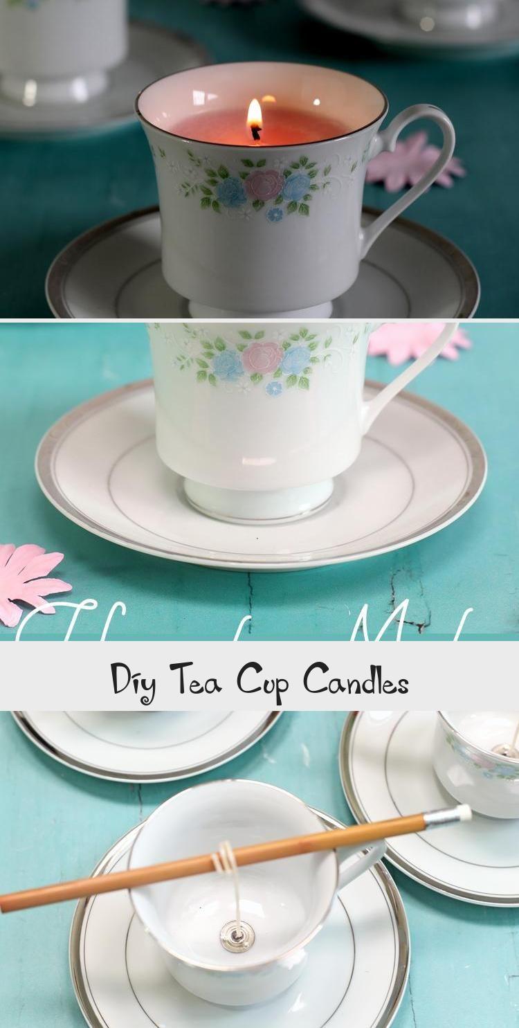 Diy Tea Cup Candles Teacup Candles Tea Cups Diy Candles With Crayons