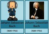 Plakate zu Mozart, Bach und Beethoven     Die nächsten Komponistenplakate  f…. – Musik-Noten