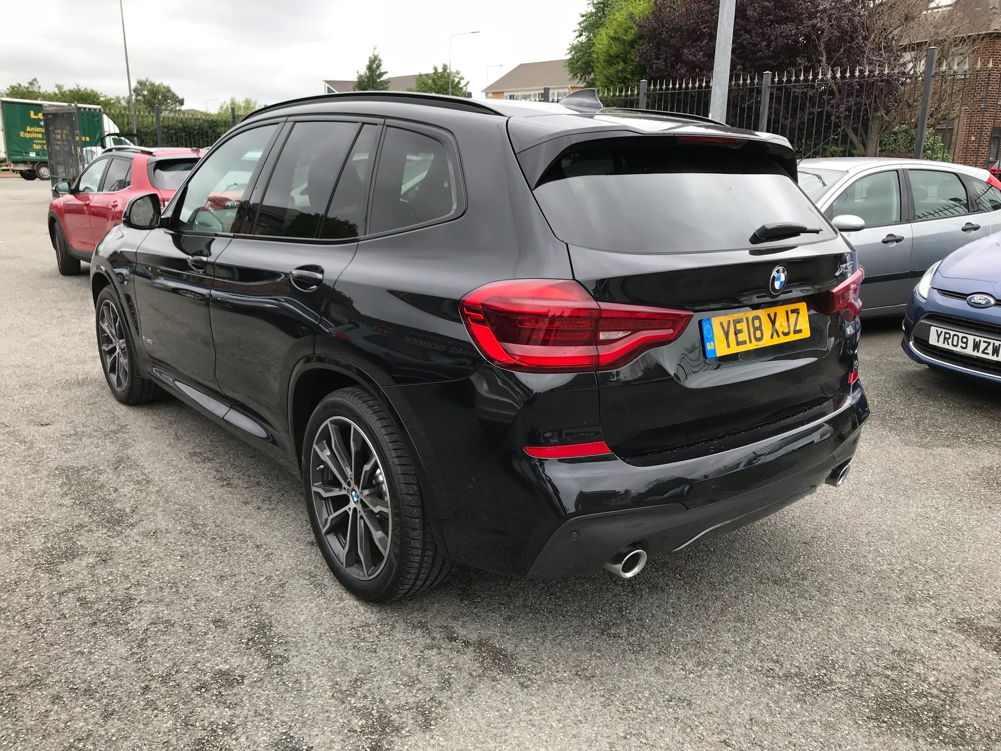 The BMW X3 DIESEL ESTATE xDrive20d M Sport 5dr Step Auto