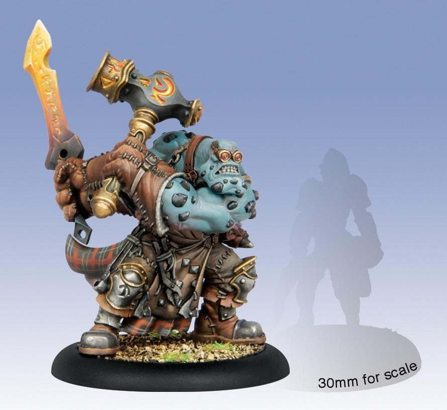 Hordes Trollbloods Horgle Ironstrike Trollkin Character Solo WEB