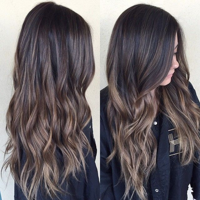 brunette balayage love that it 39 s caramel not orange. Black Bedroom Furniture Sets. Home Design Ideas