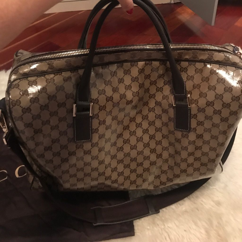 100% Authentic Gucci Travel Bag!