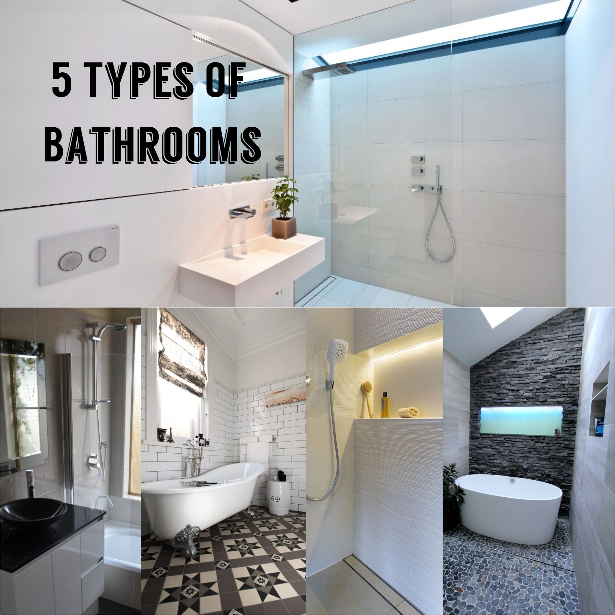 Bathroom Renovation Trends 12 - 12 and the 12 Types of Bathroom ...
