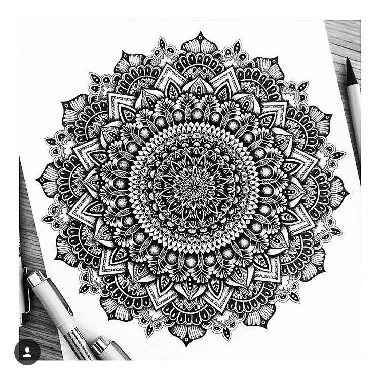 Pin By Doris Bretz On Tattoo Mandala Design Art Mandala Drawing Mandala Doodle