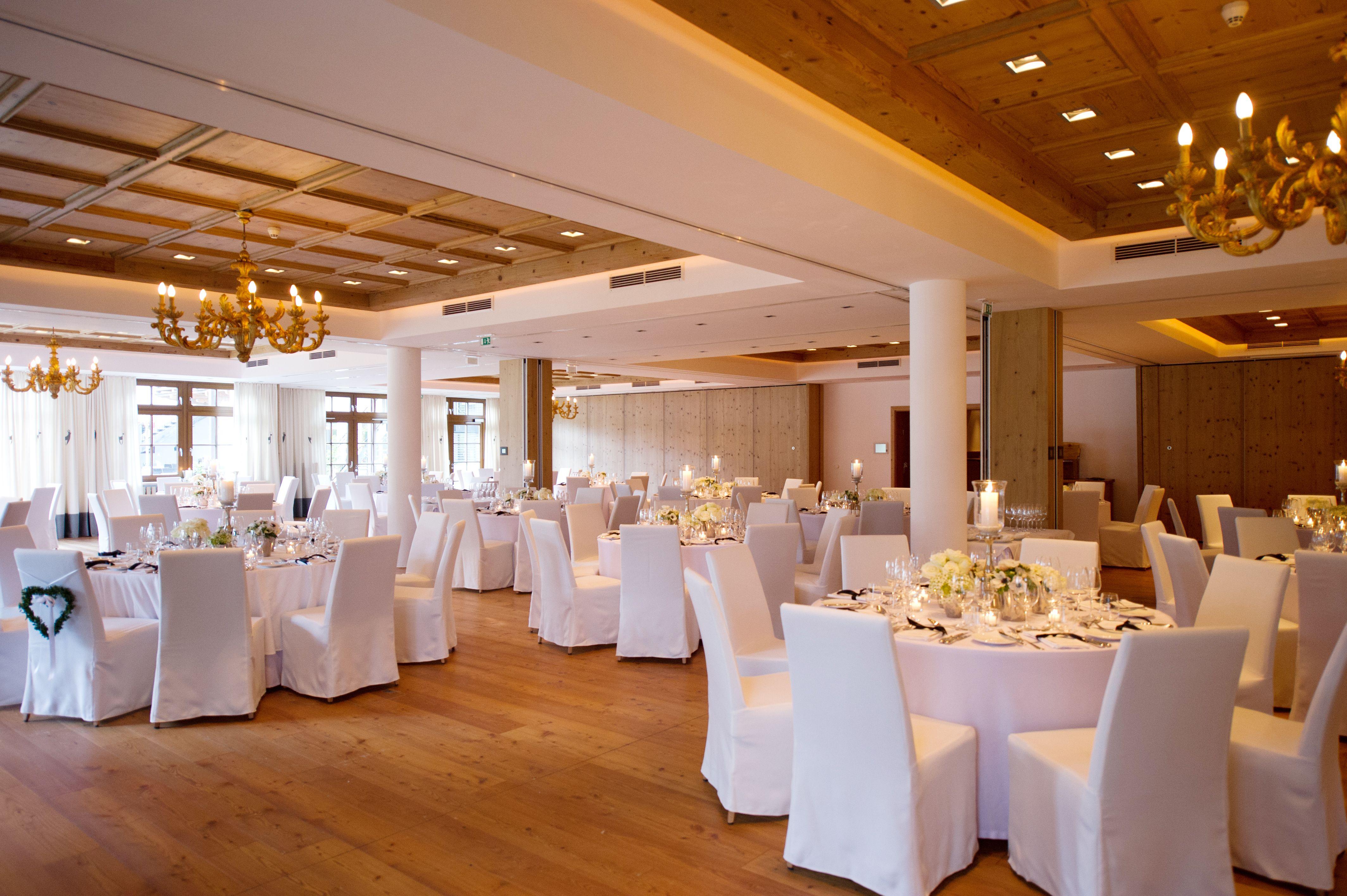 Hochzeitssaal Hotel Kitzhof