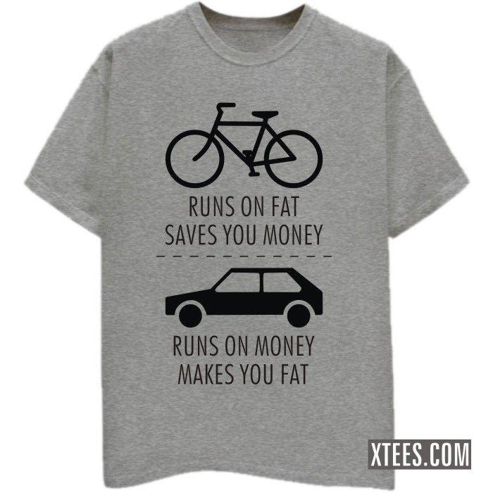 Rs 299 00 Bicycle Vs Car T Shirt 100 Cotton Round Neck T Shirt