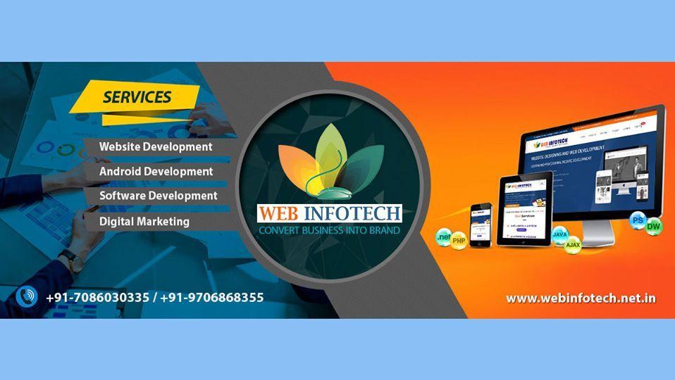Pin By Web Infotech On Web Development In 2020 Web Development Website Design Company Website Development