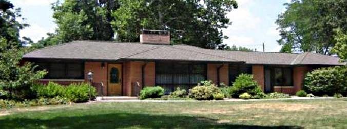 Post War Architecture Post War Ranch House Prairie