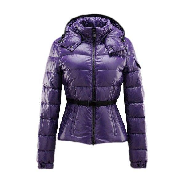 moncler purple down jacket