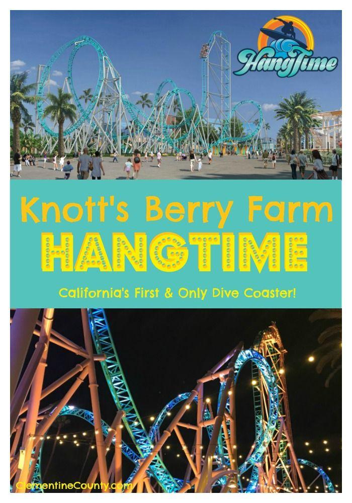 Knott's Berry Farm HangTime California travel, Knotts