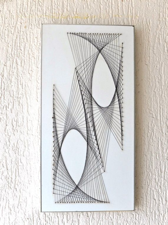 String art ideas google search model material form pinterest wood plaques ideas and 1970s - String art modele ...