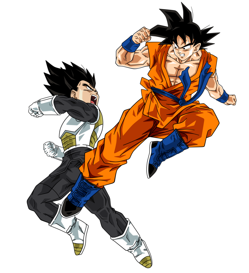 Goku Vs Vegeta By Bardocksonic On Deviantart Visit Now For 3d Dragon Ball Z Compression Shirts Now On Sal Anime Dragon Ball Super Goku Vs Dragon Ball Artwork