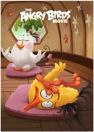 Angry-Birds-Pop-Angry-Birds-Movie-Poster-8 Posters Pinterest - fresh angry birds go jenga coloring pages