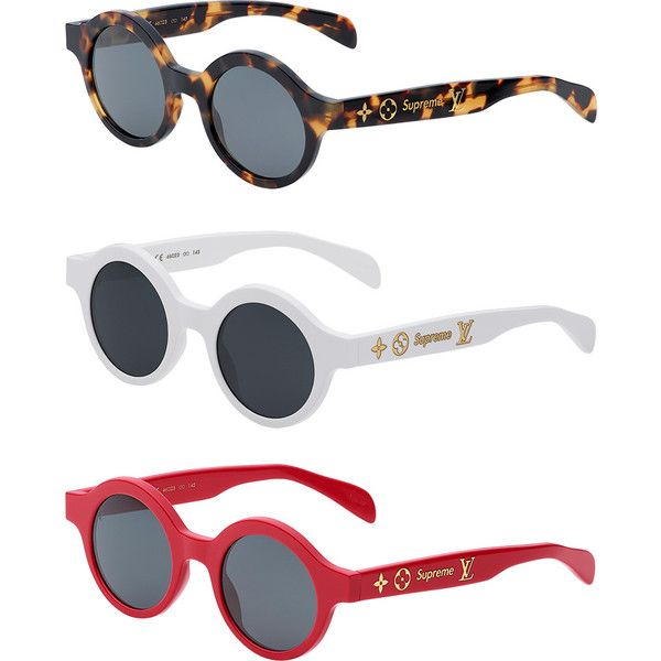 a9857bc977102 Supreme Louis Vuitton Supreme Downtown Sunglasses ❤ liked on Polyvore  featuring accessories