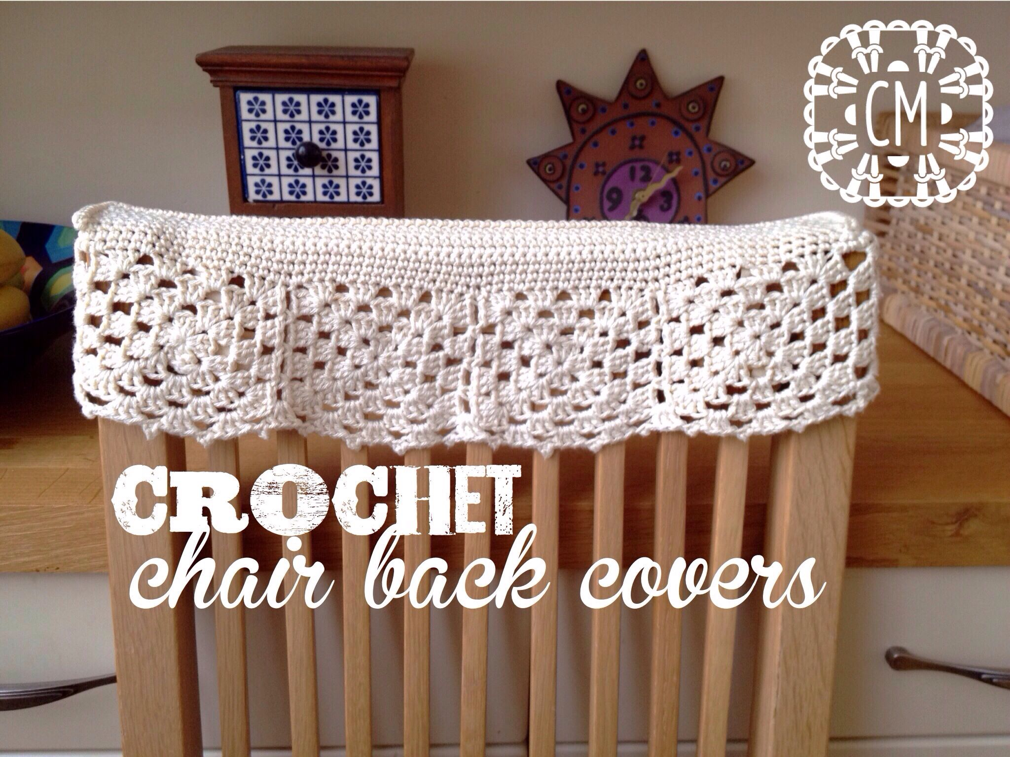 Crochet Chair Back Covers By Cara Medus - Free Crochet Diagram ...