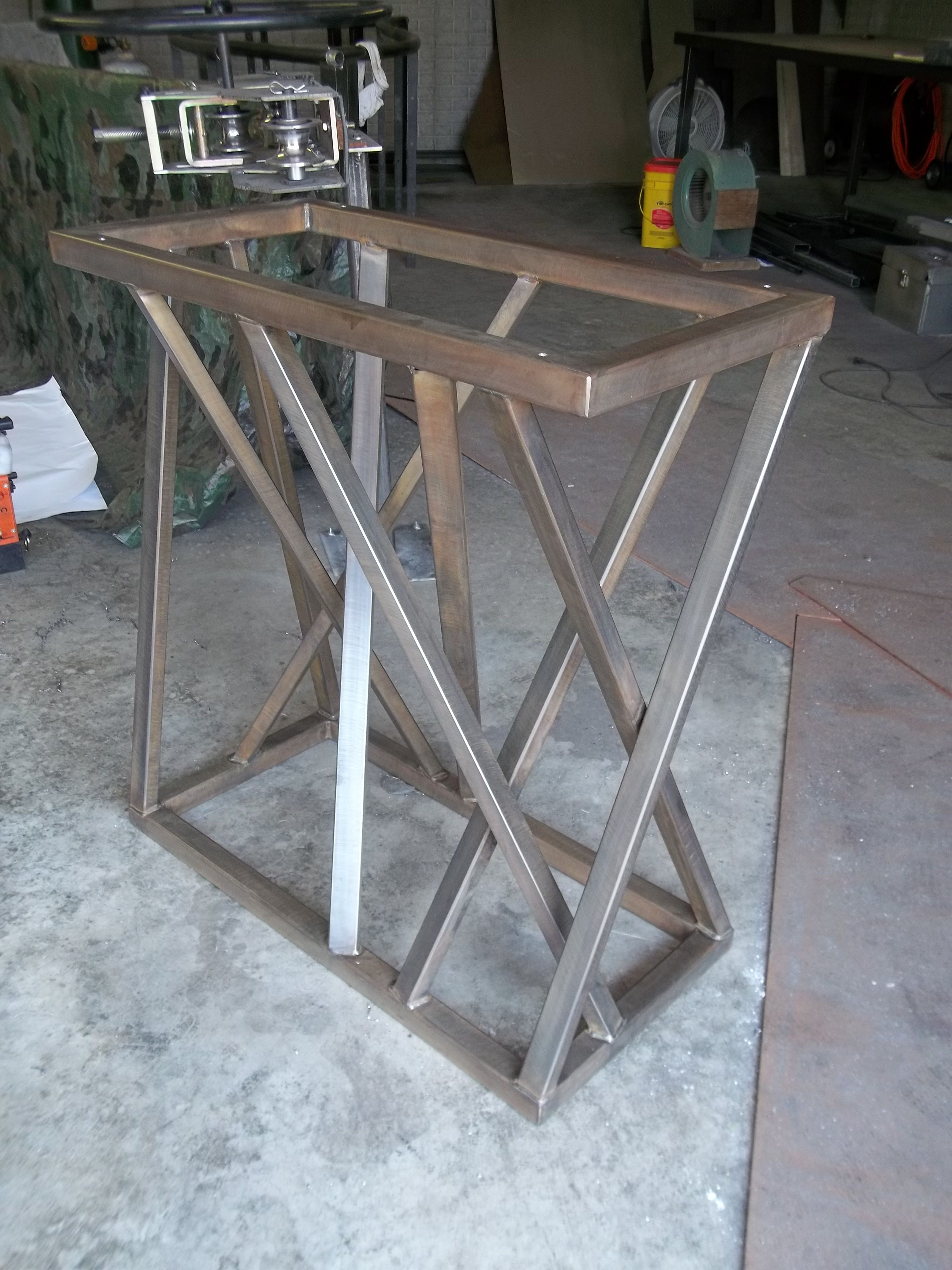 Augello S Welding And Fabrication Llc Home Metal Furniture Steel Furniture Cool Furniture