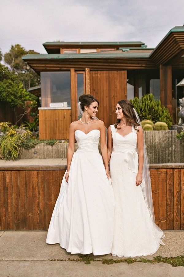 At bianca weddings we happen to think two brides are for What to wear to a wedding other than a dress
