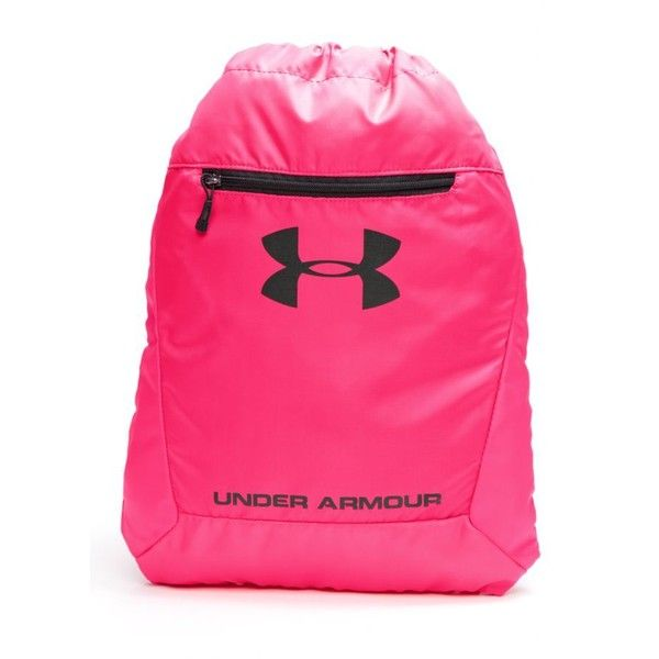 8a76fc35a0b8 Under Armour Pinkadellic Hustle Sackpack ($23) ❤ liked on Polyvore ...