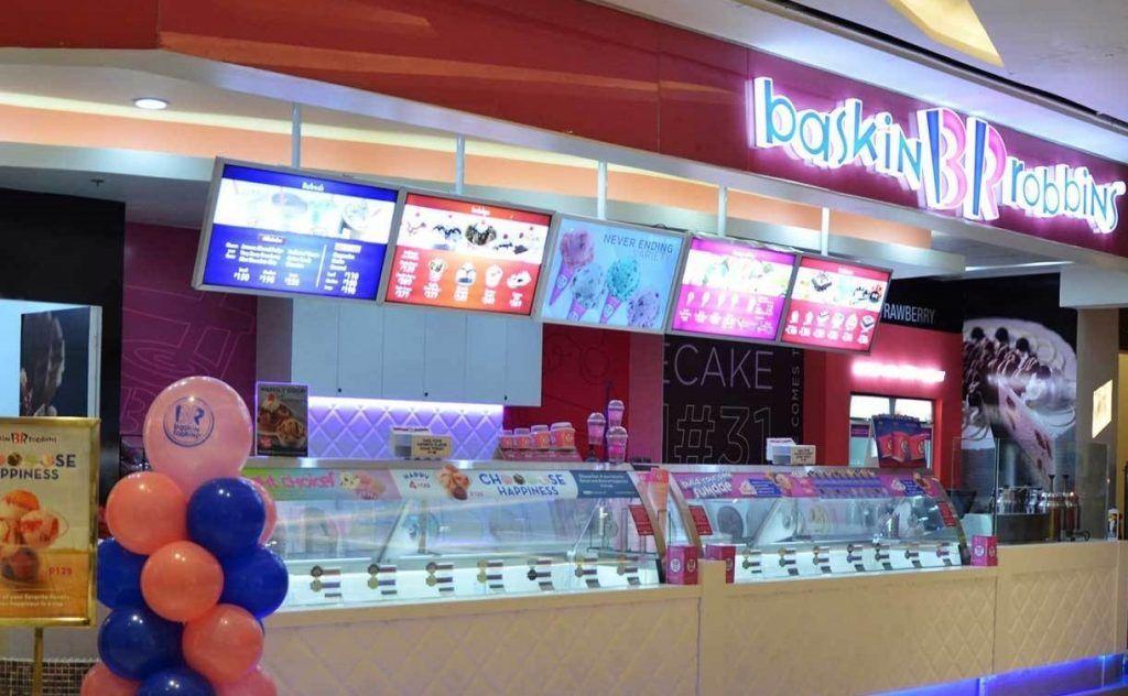 baskin robbins store, Baskin Robbins Survey 인테리어