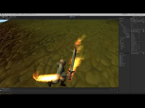 225  Unity3d Tutorial - Particle System (Weapon Trails) - YouTube