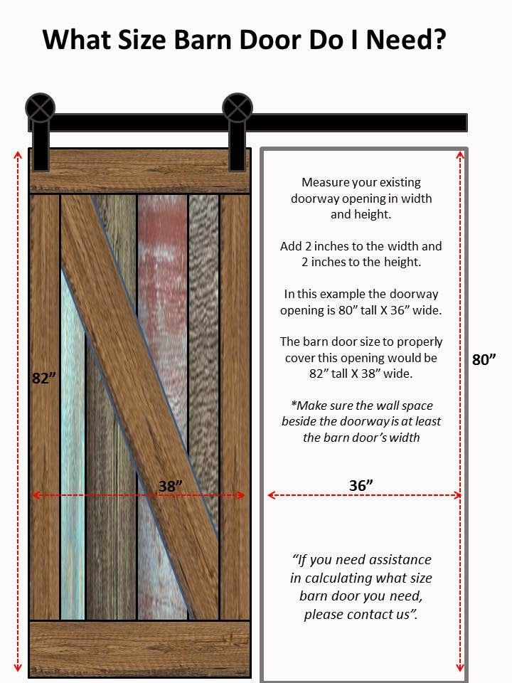 Arizona Barn Doors How To Calculate What Size Door You Need