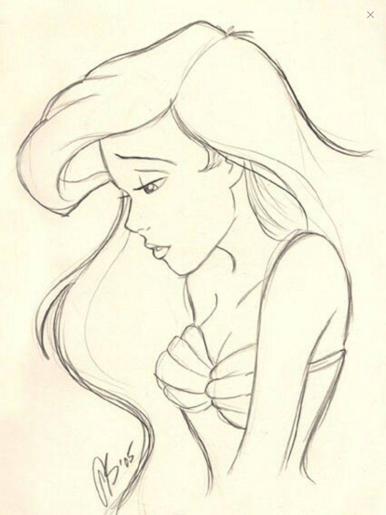 Uncategorized Nice Easy Drawings pin by unicorn on random pinterest ariel she s and princess nice disney tattoo cute really cute
