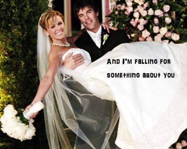 Ryan S Song To Trista Brad Paisley Sang It At Their Wedding Celebrity Weddings Wedding Wedding Dresses