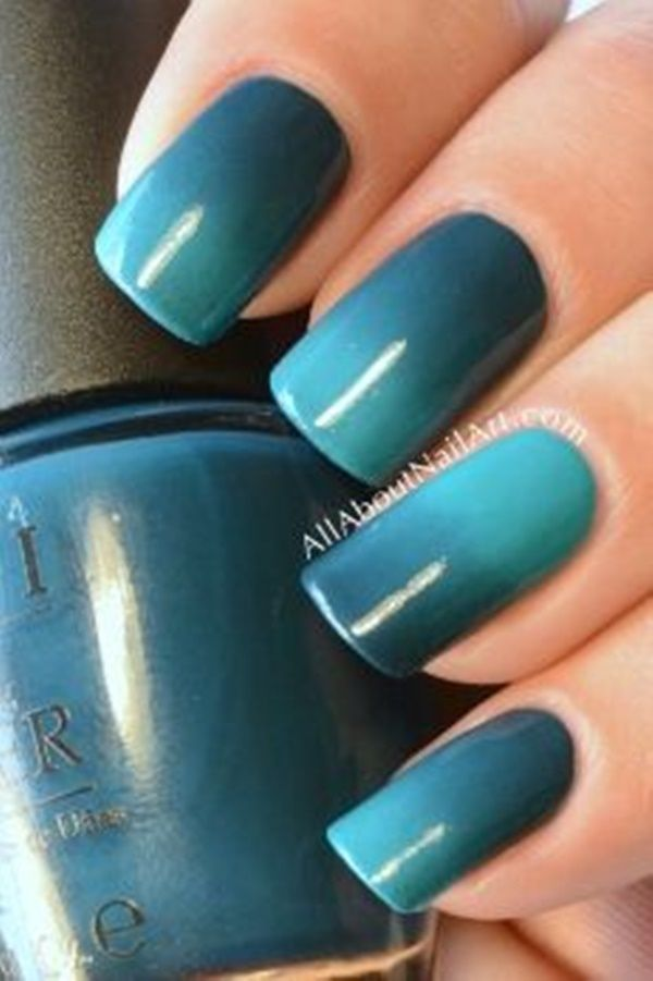 45 Inspirational Blue Nail Art Designs and Ideas   Blue nails and ...
