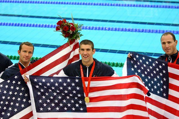 Photos of each of Michael Phelps' medals