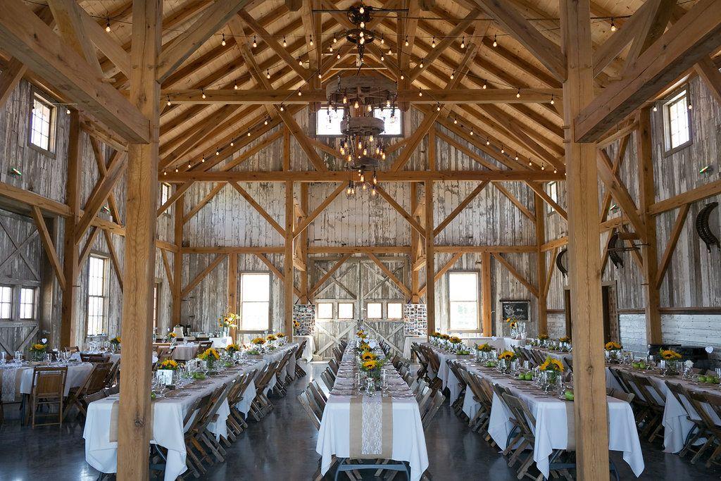 Wedding Venue At Red Barn Farm Weston Mo