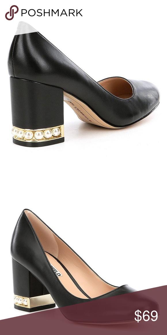 parisian black shoes heels price