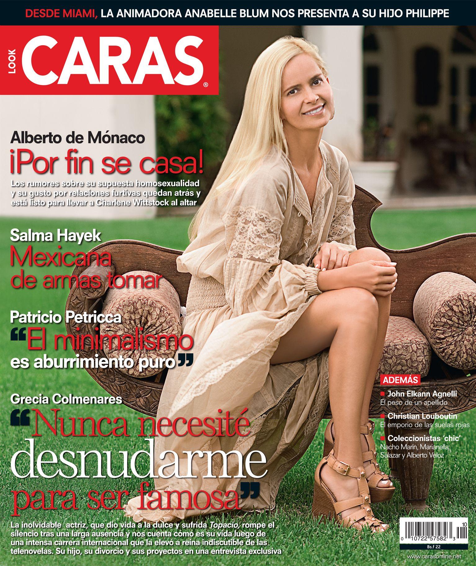 CARAS_Ed 310. Grecia Colmenares. Ago 2010