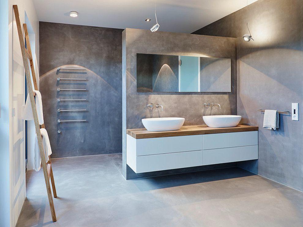 ein fugenloses bad gibt ihrer wohnung den letzten schliff badezimmer ideen bathroom ideas. Black Bedroom Furniture Sets. Home Design Ideas