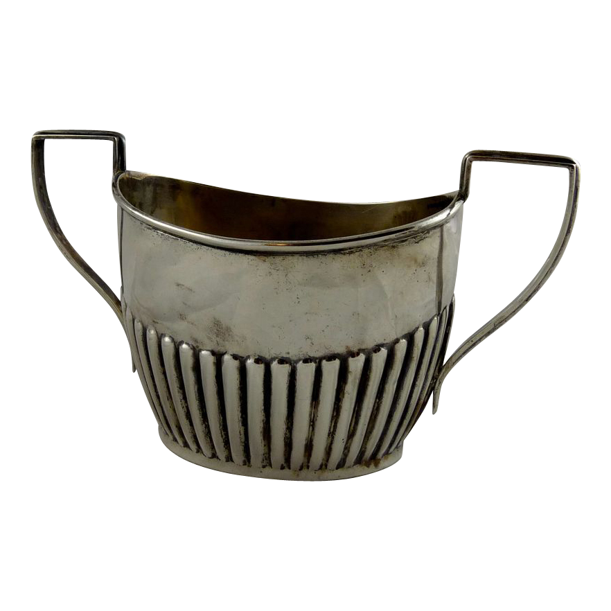 Edwardian Sterling Silver Sugar Bowl