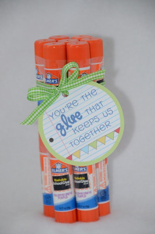 Pin by leslie vecore on homemade gifts pinterest glue sticks fun gift for a teacherd glue sticks are definitely appreciated always need glue sticks lol solutioingenieria Choice Image