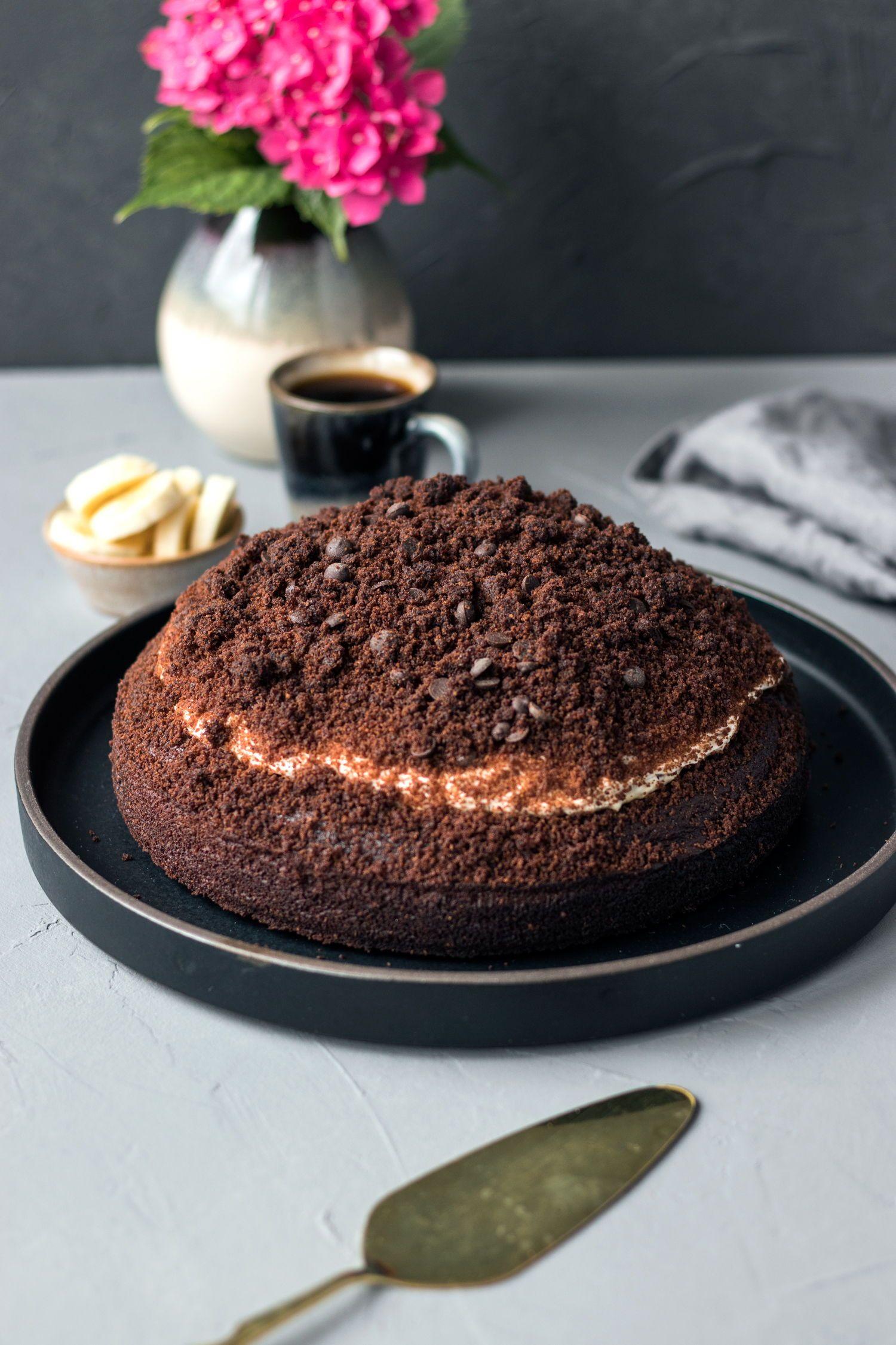 Glutenfreier Und Veganer Maulwurfkuchen Rezept Maulwurfkuchen Lebensmittel Essen Und Kuchen Rezepte