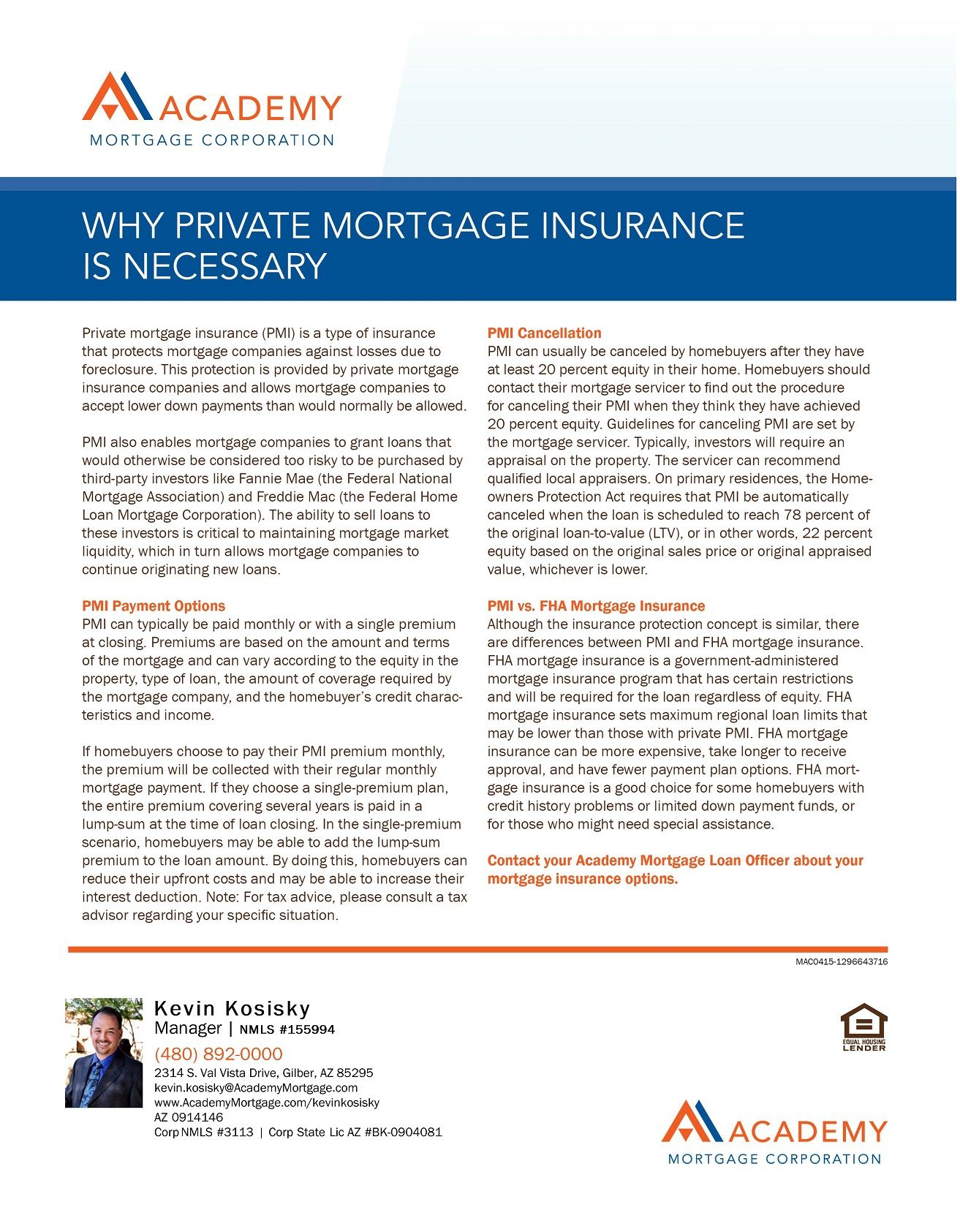 Private Mortgage Insurance Private Mortgage Insurance Home