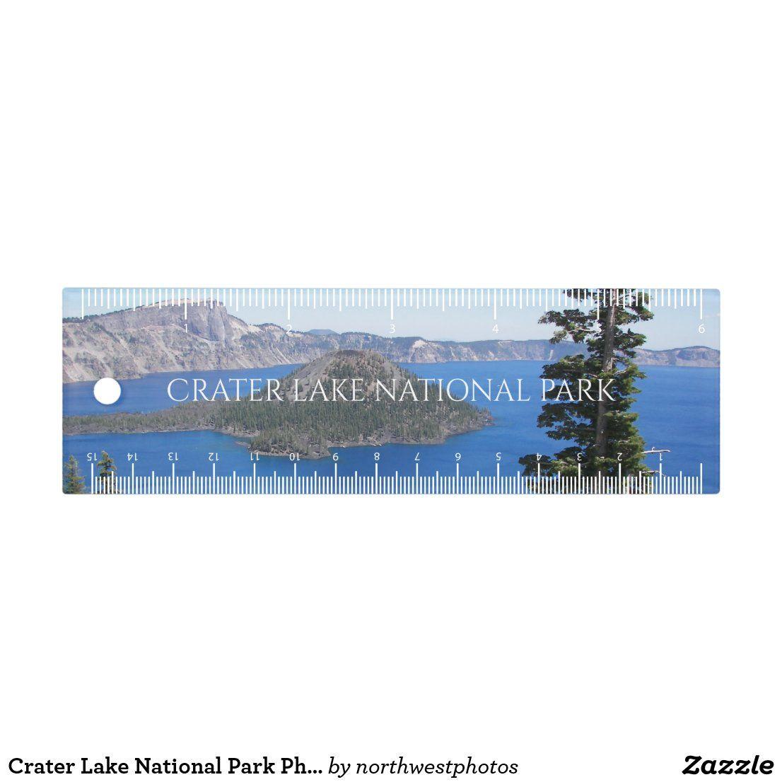Crater Lake National Park Photo Ruler   Zazzle.com
