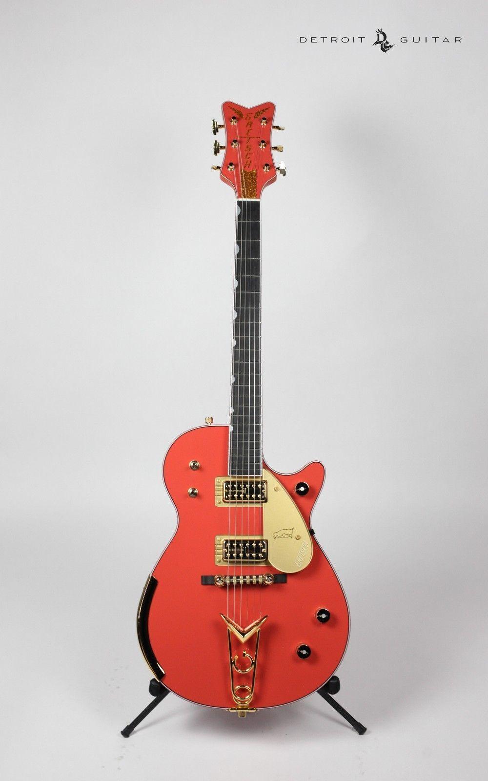 Gretsch Custom Shop Masterbuilt G6134cs 1958 Penguin Tahitian Coral Lollar Pickup Wiring Diagram Fender Telecaster Musical Instruments