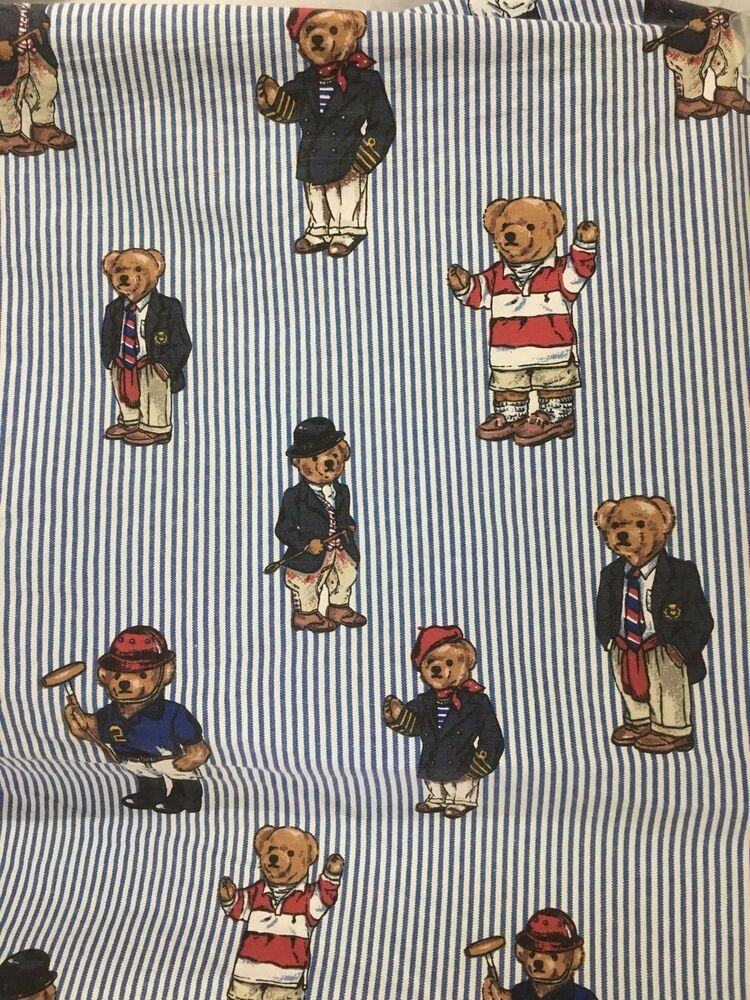 2 polo ralph lauren fitted sheets polo bear