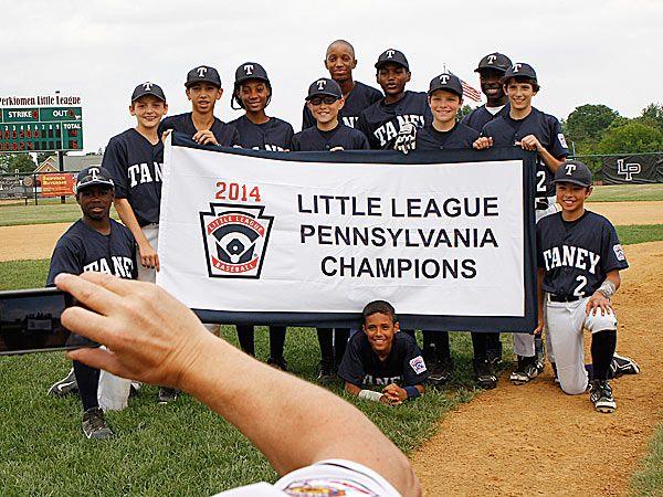 Taney Wins Pennsylvania State Little League Crown Little League League Pennsylvania