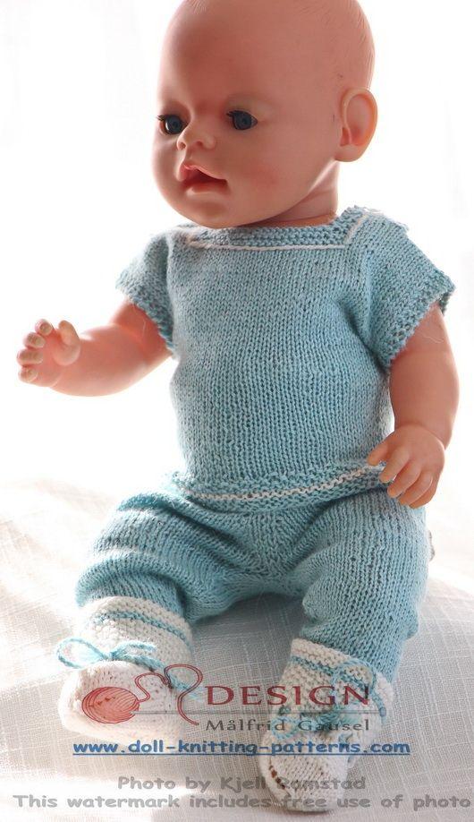 baby born oppskrifter | strikpüpchen | Pinterest | Puppen, Stricken ...