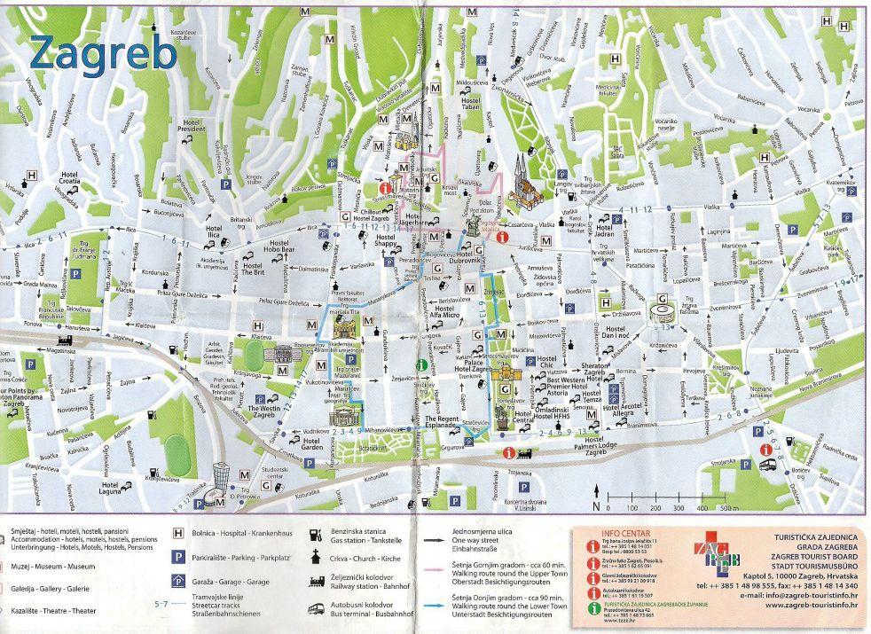 Plan Pour Visiter Zagreb En 3 Jours Zagreb Tourisme Croatie Croatie