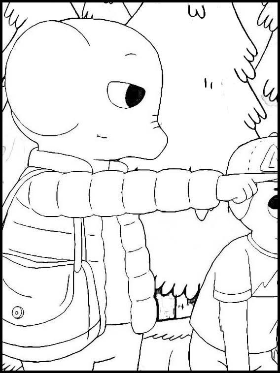 Summer Camp Island 22 Printable coloring pages for kids in