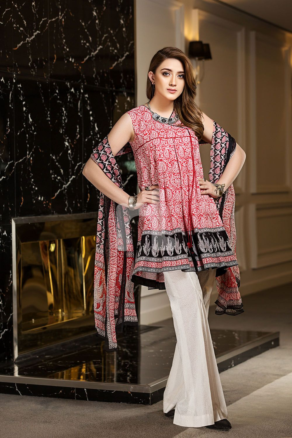 292af05f94 Nishat Linen Spring Summer Collection 2018