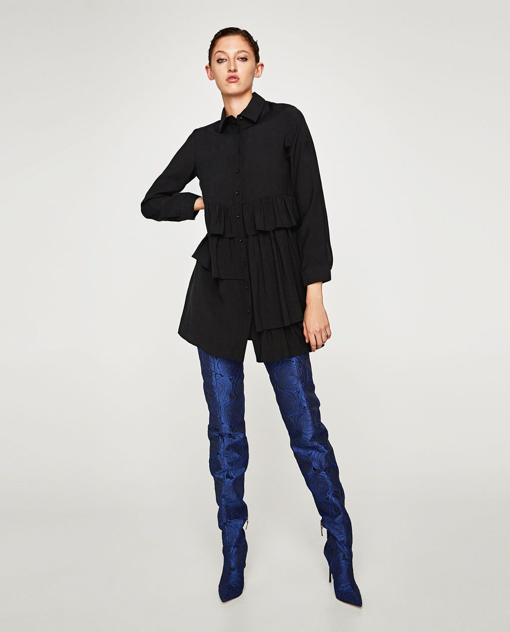 9be77839 JUMPSUIT WITH SHOULDER GEMS-NEW IN-WOMAN | ZARA United States Everyday Look,