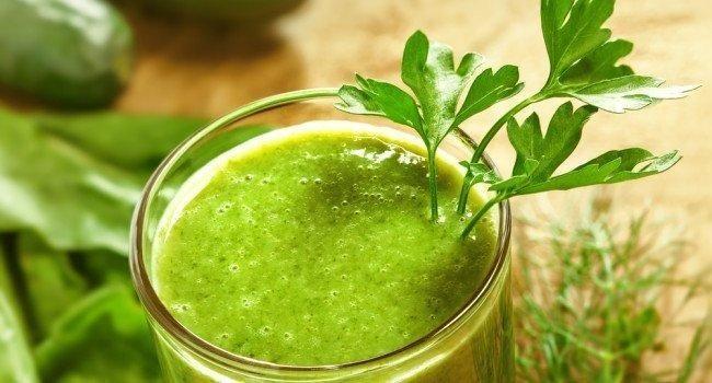Receita de suco verde para acelerar o metabolismo