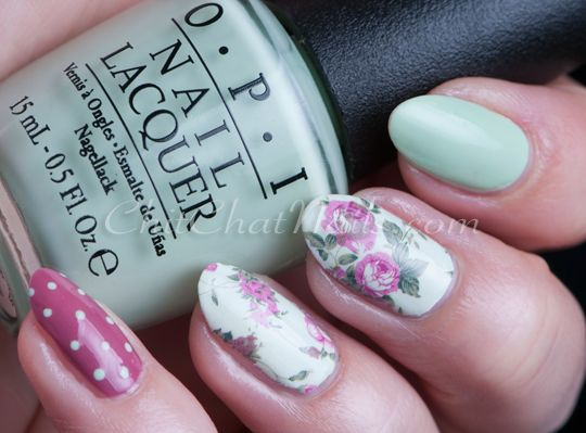 That's a Hula-rious skittlette @opiproducts @bornprettystore  | ChitChatNails