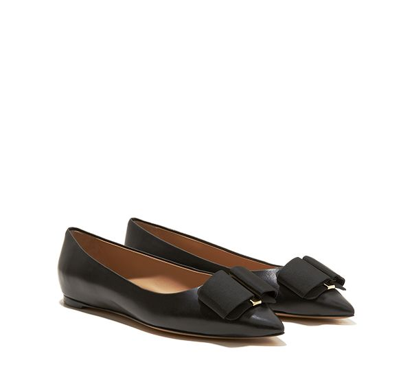Yoga shoes · Pointy-Toe Oversized Bow Ballerina | Salvatore Ferragamo